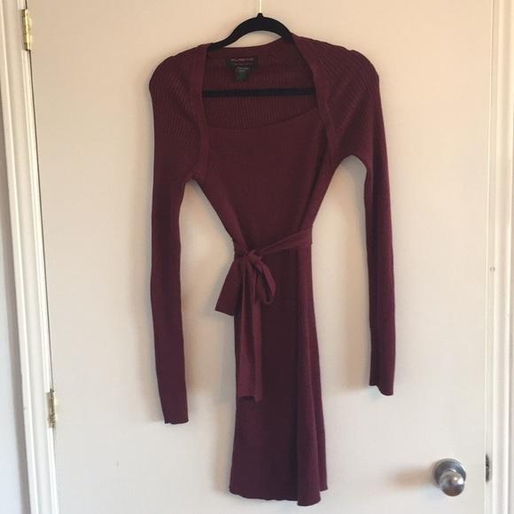 🌺 4 items for 25$ 🌺 Burgundy 3/4 dress